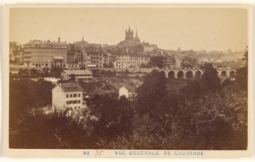 Vue Generale de Lausanne