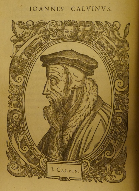 Reformation Calvin portrait