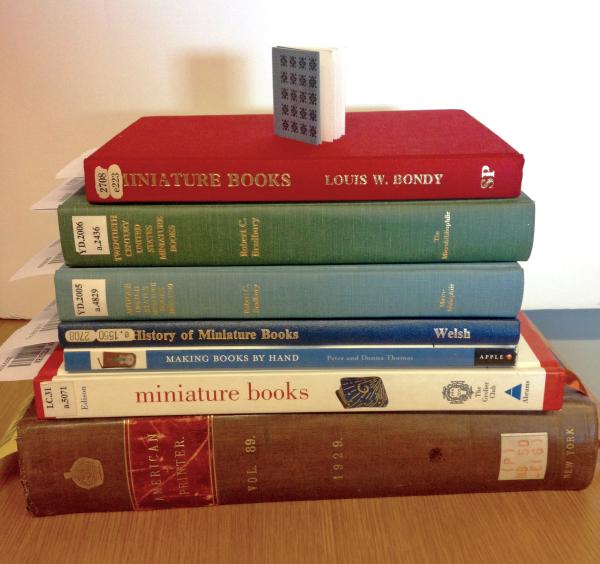Miniature books: a Lilliputian world - Part one - American
