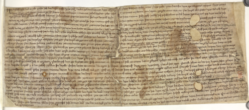 The will of an Anglo-Saxon woman called Wynflæd