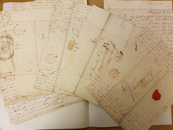 Grimaldi letters versos