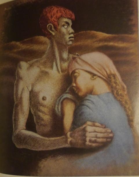 Savinio Adamo Eva