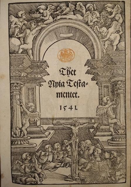 Swedish Bible title page