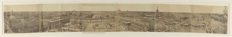 Felice Beato, Panorama of Lucknow, BL Photo 1138(1)