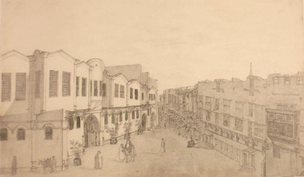 a street in Cairo 1838