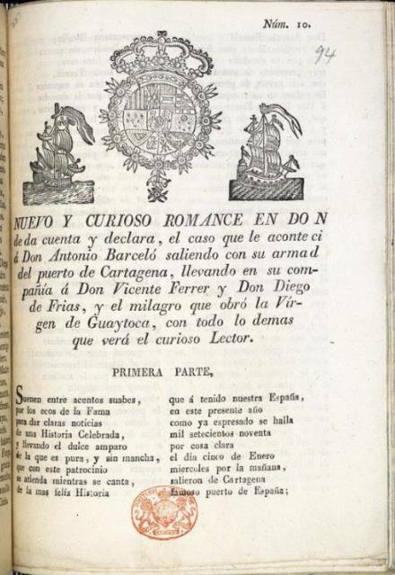 Guyatoca Nuevo y curioso romance