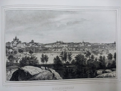 View of Helsinki in the mid-19th century