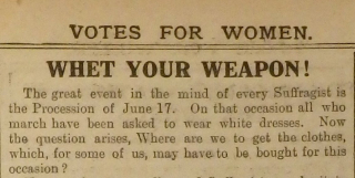 Whet Your Weapon article 02-06-1911 cropped