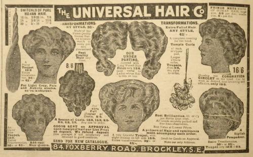 Universal Hair detail