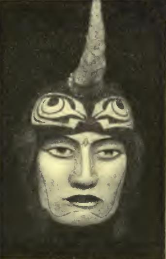 "Mask for Young Man in ""At the Hawk's Well"""
