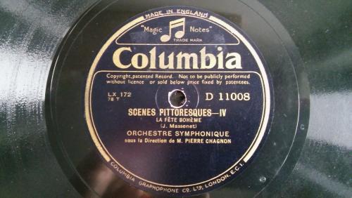 Columbia D 11008