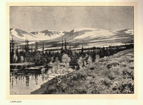 Sveriges Natur - Lappland landscape