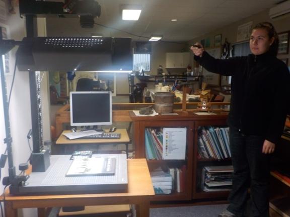 Digitising on Tristan da Cunha