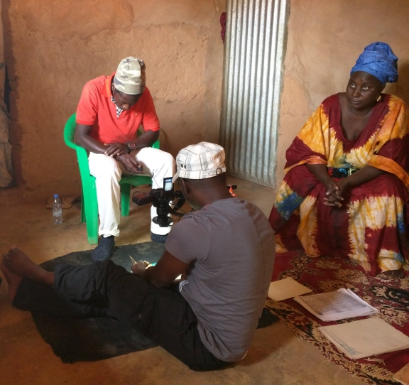 Working with the Cisse community in Senegal