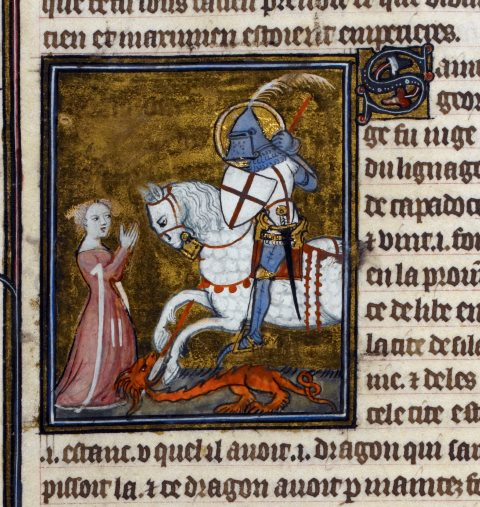 St George (MS Royal 19 B XVII)