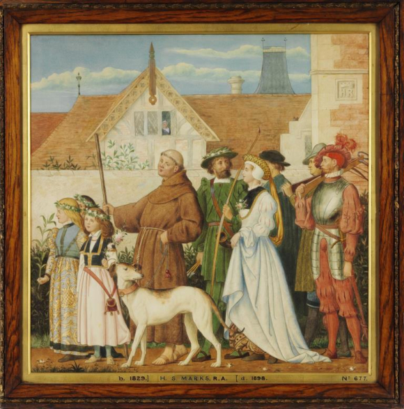 May Day in the Olden Time. V&A  FA.677