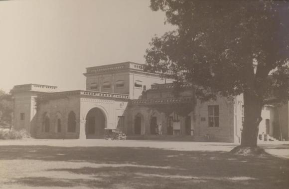 Photograph of Gorakhpur Club , c1928