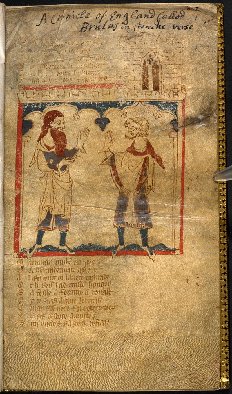 Waces-Roman-de-Brut-egerton_ms_3028_f001r