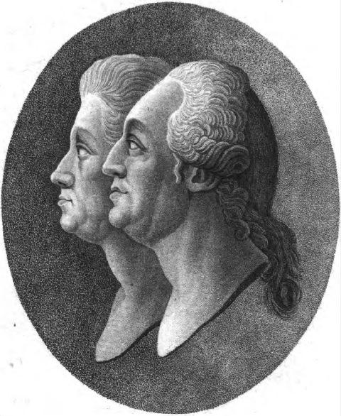 Forsters portrait Allgemeine geographische Ephemeriden