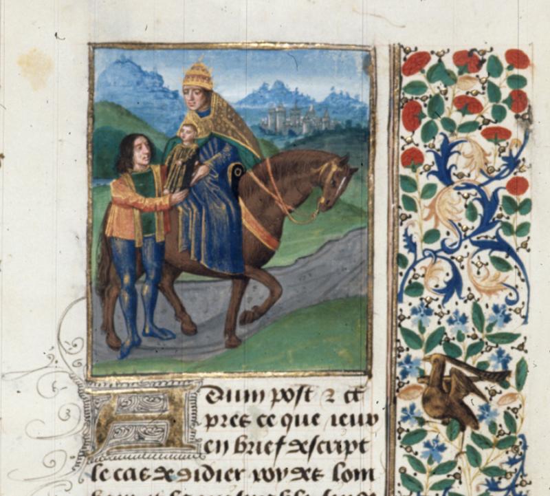 Royal MS 14 E V   f. 468