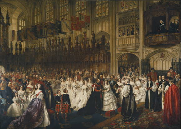 Royal Wedding 1863 Edward & Alexandra Royal Collection