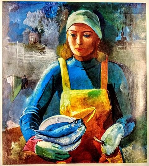 Gunnlaugur Blöndal - The Herring Worker