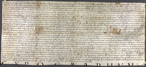 The will of the Anglo-Saxon king Æthelstan.