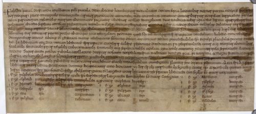 A 10th-century charter, issued by King Æthelstan of England.