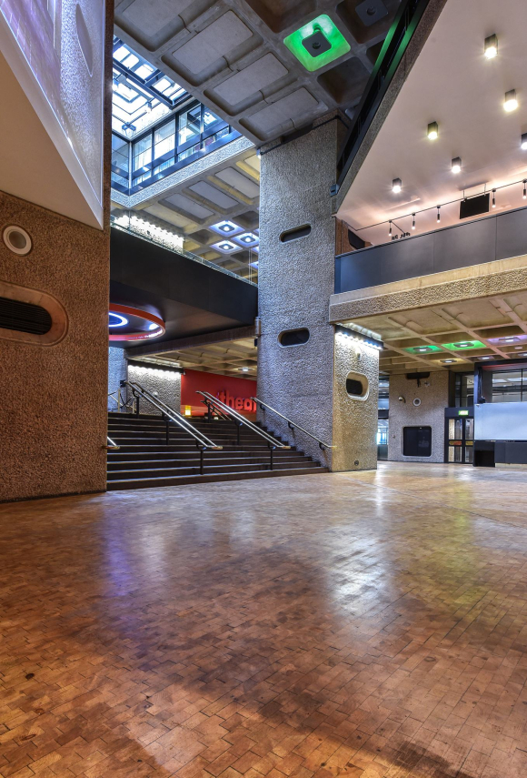 Interior of The Barbican Arts Centre