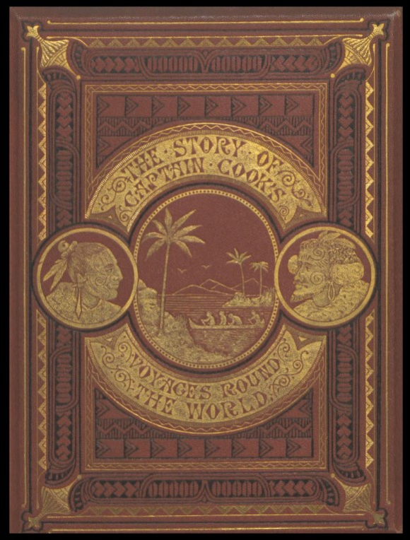 Cover of Meredith Jones, The Story of Captain Cook's three voyages round the world