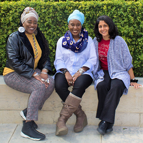 Collections in Verse poets Khadijah Ibrahiim, Malika Booker and Vahni Capildeo at the British Library's Poets Circle