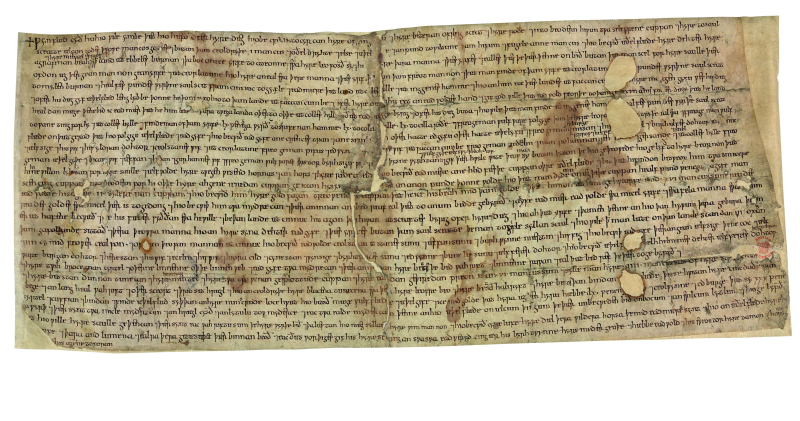 Wynflaed Will (c) British Library Board