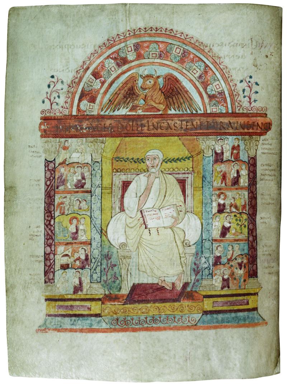St Augustine Gospels (c) The Parker Library  Corpus Christi College  Cambridge