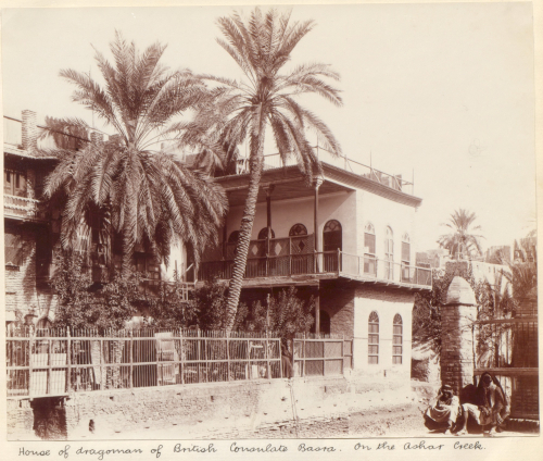'House of the dragoman [translator] of British Consulate Basra', 1906