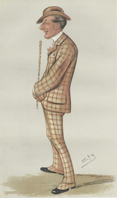 Caricature of Henry Reginald Corbet