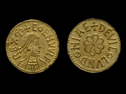 Gold mancus of Coenwulf of Mercia