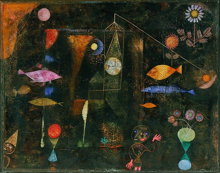 764px-Paul_Klee _Swiss_-_Fish_Magic_-_Google_Art_Project