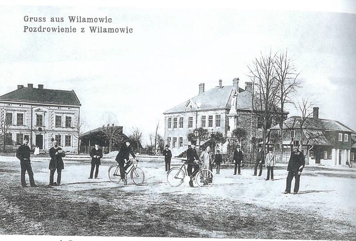 Wilamowice postcard