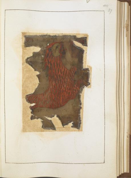The lion of St Mark, from the Otho-Corpus Gospels