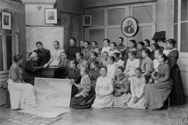 Alchevska - reading group