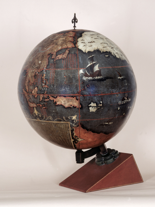 Jesuit-designed Chinese terrestrial globe, early 17th century (British Library Maps G.35)