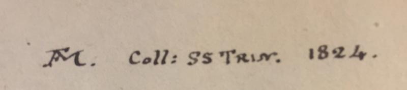 Martin inscription