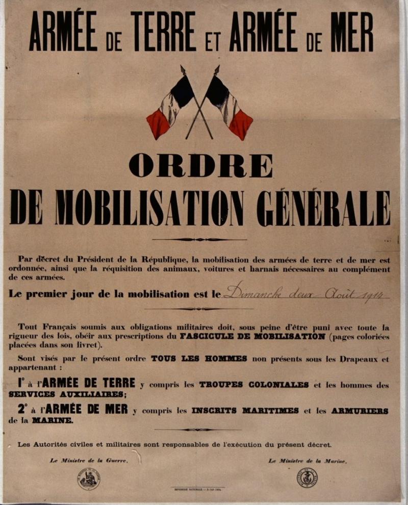 3. General mobilisation