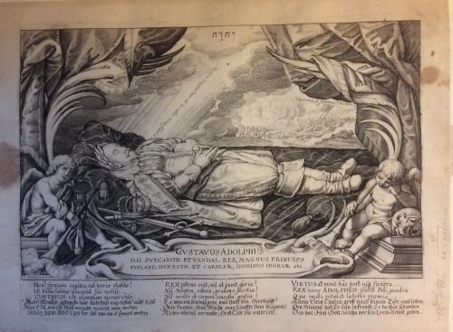 1750.b.29(13) Dead Gustavus