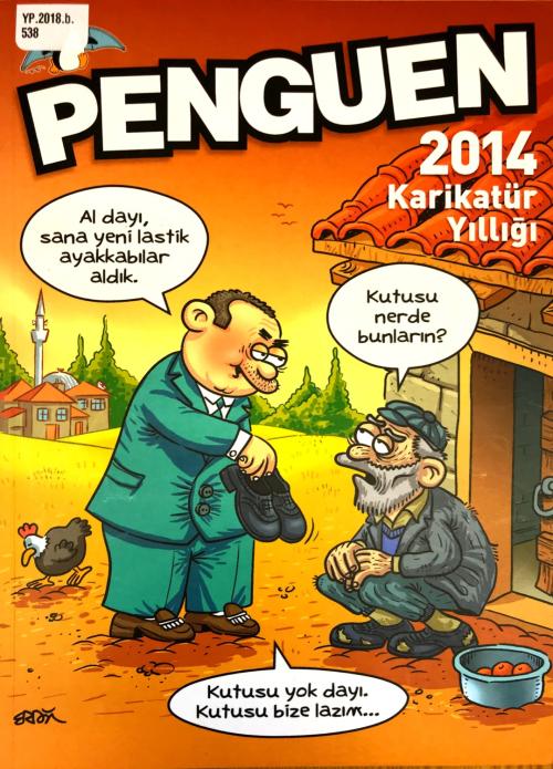 Cover of the Penguen 2014 Karikatür Yıllığı