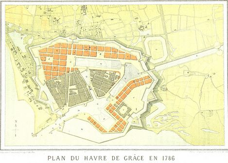 Plan of Le Havre 1786