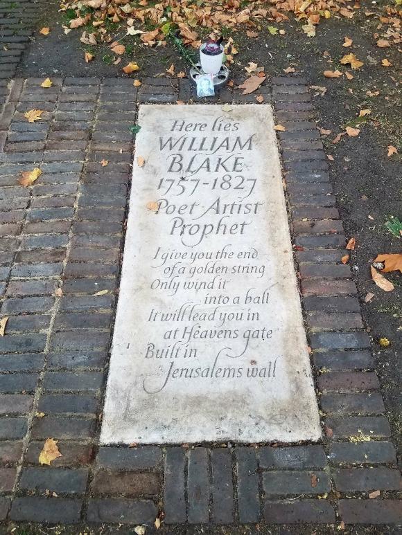 Blake grave