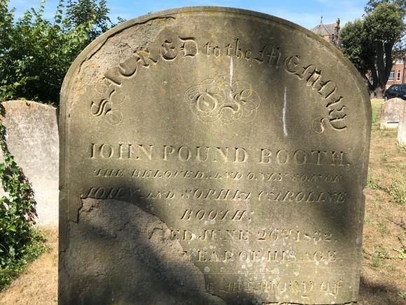 Booth gravestone 1