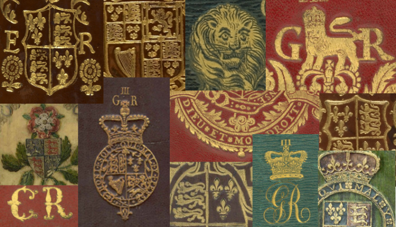 Patchwork image of various armorials