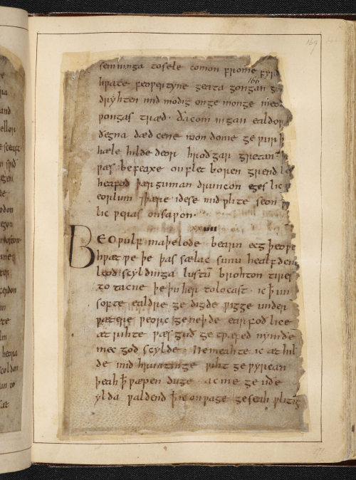 Beowulf (c) British Library Board